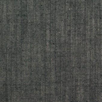 コットン×ミックス(アイボリー&ブラック)×ヘリンボーン