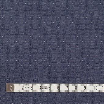 コットン×幾何学模様(ネイビー)×ジャガード_全2色 サムネイル4