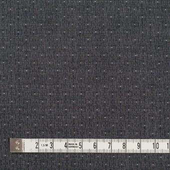 コットン×幾何学模様(チャコール)×ジャガード_全2色 サムネイル4