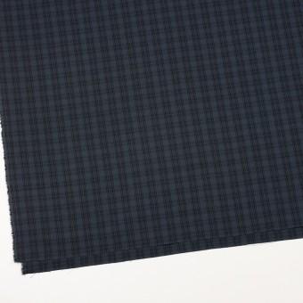 コットン×チェック(ブルイッシュグレー&ブラック)×ジョーゼット サムネイル2