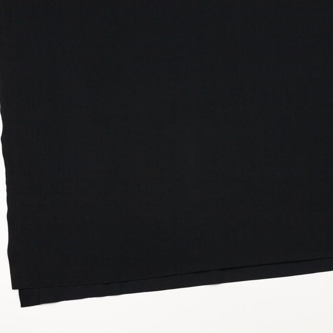 リヨセル&ポリウレタン×無地(ブラック)×トリコット_全4色 イメージ2