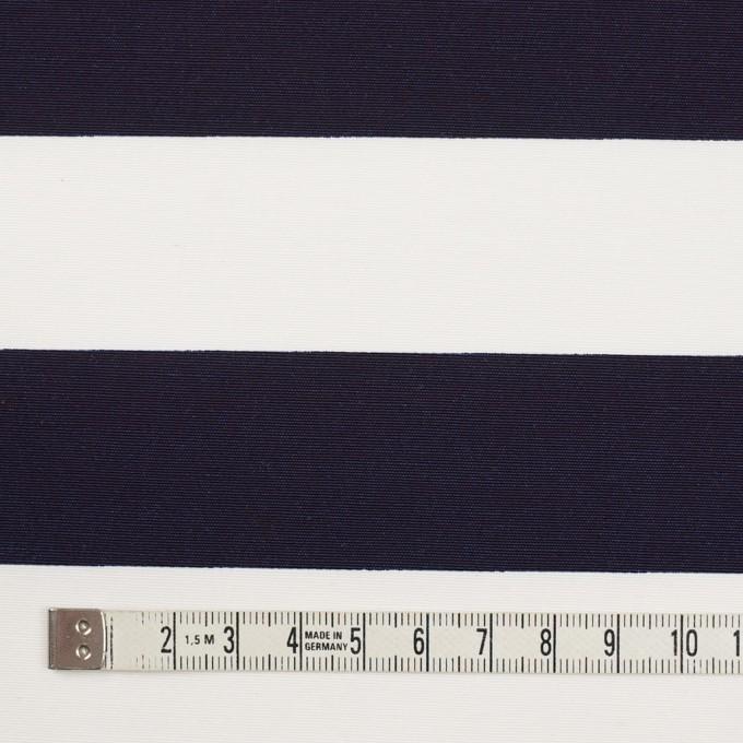 ナイロン&コットン×ボーダー(ネイビー)×タッサーポプリン イメージ4