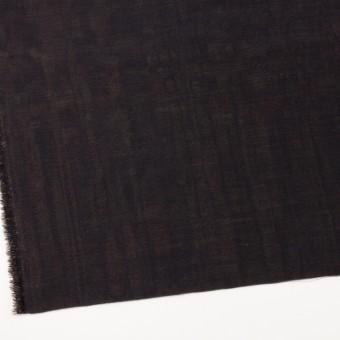 ウール&シルク×無地(ダークネイビー&ゴールド)×トリプルガーゼ_イタリア製 サムネイル2