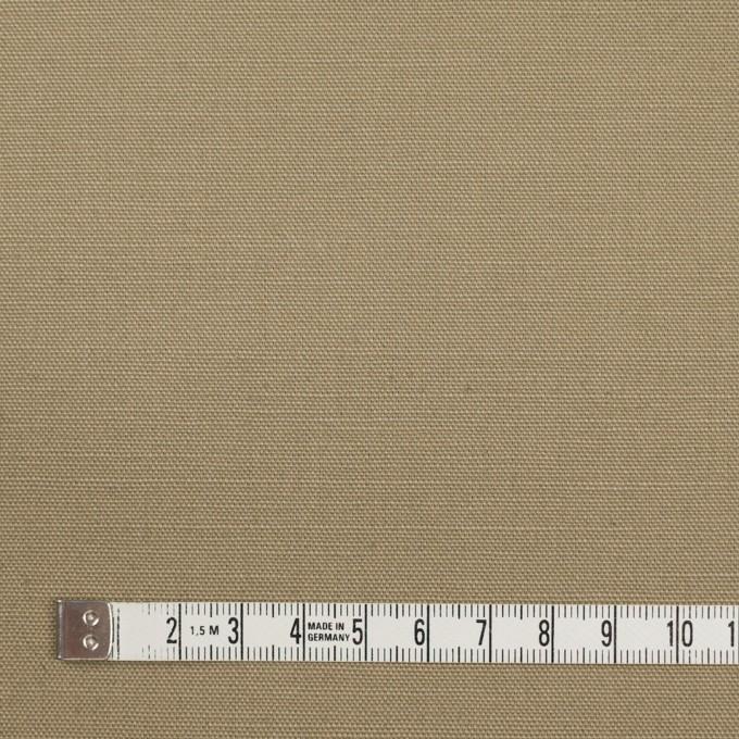 コットン×無地(カーキ)×キャンバス イメージ4