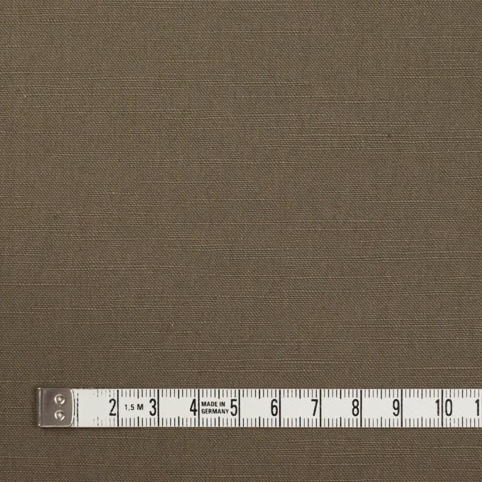 コットン&リネン混×無地(モスグレー)×キャンバス・ストレッチ_イタリア製 イメージ4