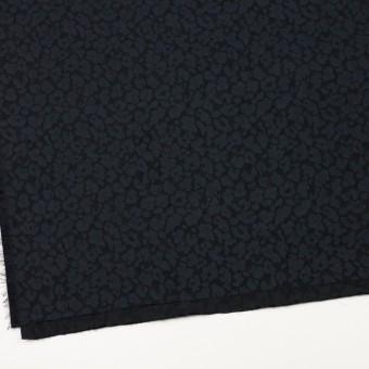 ポリエステル×幾何学模様(ダークネイビー)×形状記憶ジャガード サムネイル2