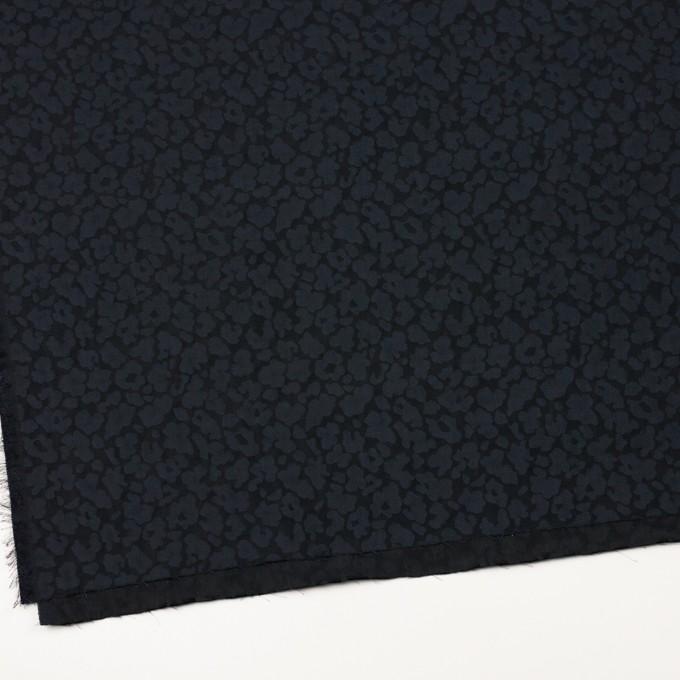 ポリエステル×幾何学模様(ダークネイビー)×形状記憶ジャガード イメージ2