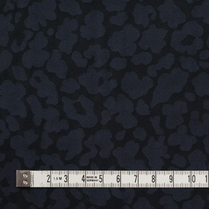 ポリエステル×幾何学模様(ダークネイビー)×形状記憶ジャガード イメージ4