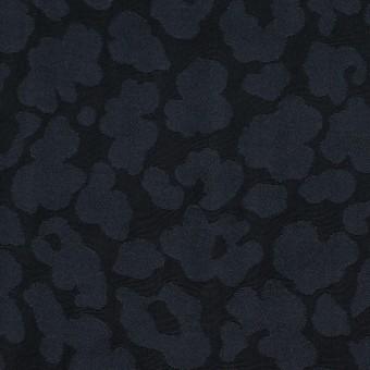 ポリエステル×幾何学模様(ダークネイビー)×形状記憶ジャガード