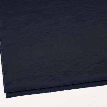 コットン&ポリエステル×無地(ダークネイビー)×ポプリン_イタリア製 サムネイル2