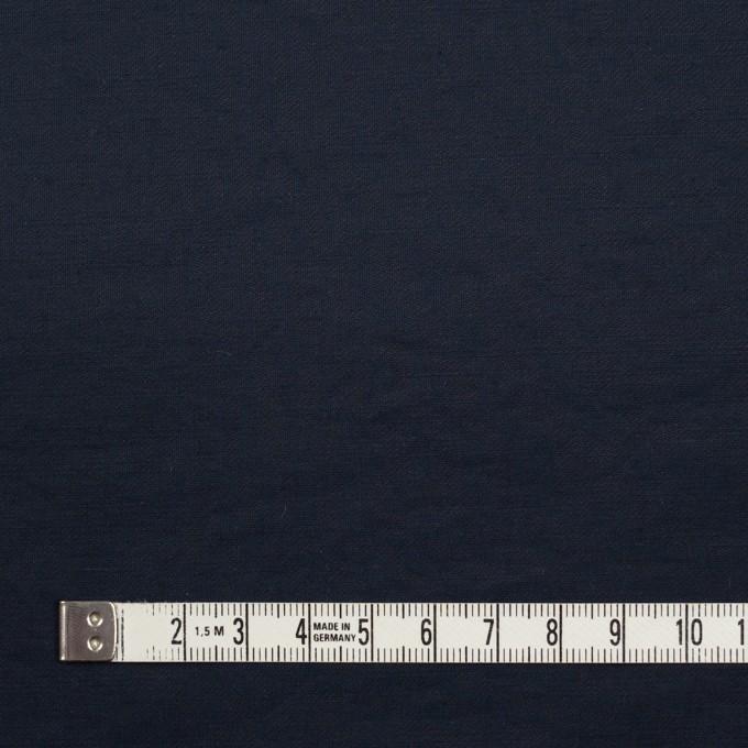 コットン&ポリエステル×無地(ダークネイビー)×ポプリン_イタリア製 イメージ4
