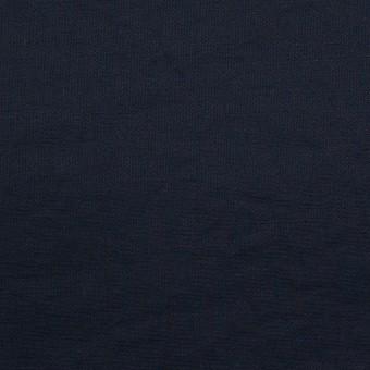 コットン&ポリエステル×無地(ダークネイビー)×ポプリン_イタリア製 サムネイル1
