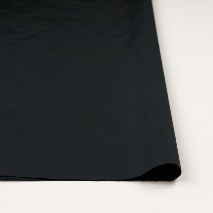 ポリエステル×無地(チャコールブラック)×形状記憶タフタ_イタリア製 イメージ3