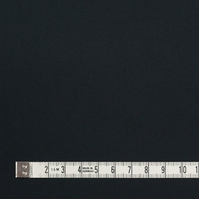 ポリエステル×無地(チャコールブラック)×形状記憶タフタ_イタリア製 イメージ4