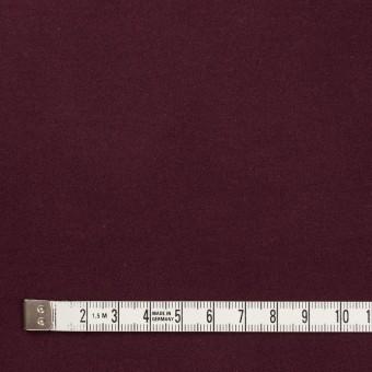 コットン&ポリウレタン×無地(ボルドー)×フランネル・ストレッチ_全4色 サムネイル4