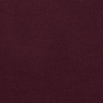 コットン&ポリウレタン×無地(ボルドー)×フランネル・ストレッチ_全4色