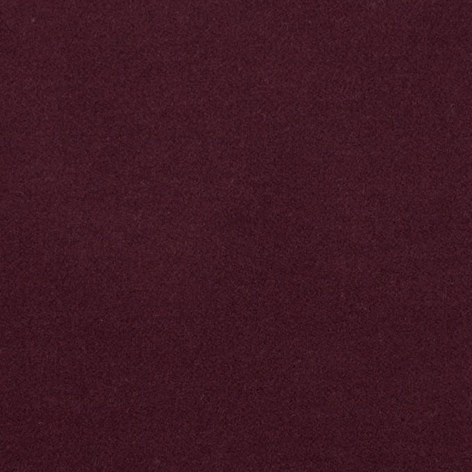 コットン&ポリウレタン×無地(ボルドー)×フランネル・ストレッチ_全4色 イメージ1