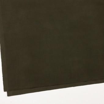 コットン&ポリウレタン×無地(カーキグリーン)×フランネル・ストレッチ_全4色 サムネイル2