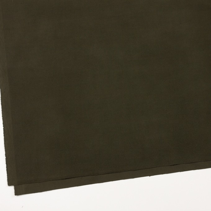 コットン&ポリウレタン×無地(カーキグリーン)×フランネル・ストレッチ_全4色 イメージ2