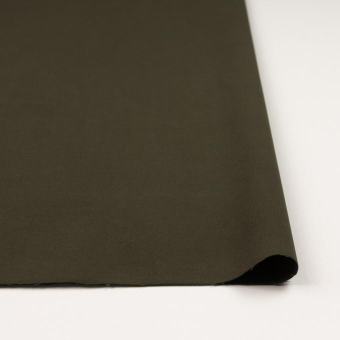 コットン&ポリウレタン×無地(カーキグリーン)×フランネル・ストレッチ_全4色 イメージ3