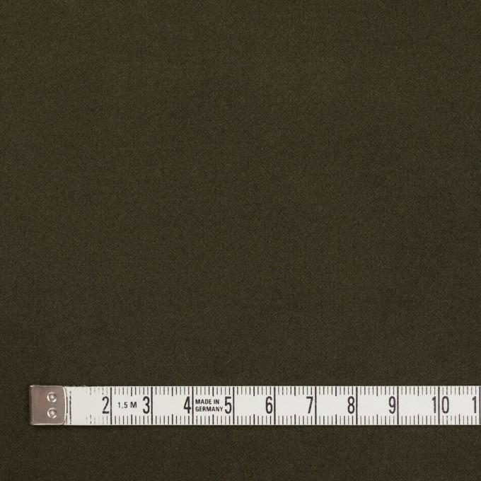 コットン&ポリウレタン×無地(カーキグリーン)×フランネル・ストレッチ_全4色 イメージ4