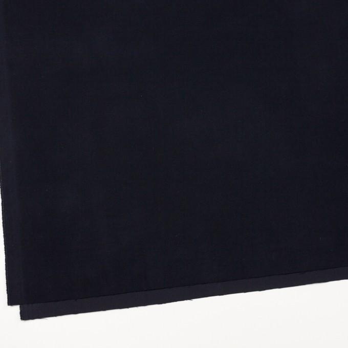 コットン&ポリウレタン×無地(ダークネイビー)×フランネル・ストレッチ_全4色 イメージ2