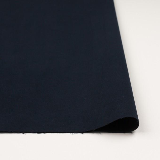 コットン&ポリウレタン×無地(ダークネイビー)×フランネル・ストレッチ_全4色 イメージ3