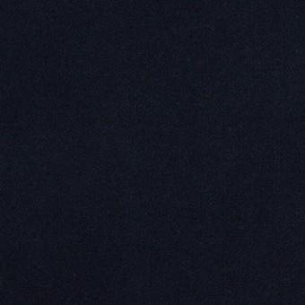 コットン&ポリウレタン×無地(ダークネイビー)×フランネル・ストレッチ_全4色