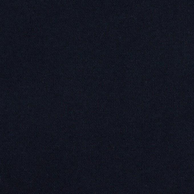 コットン&ポリウレタン×無地(ダークネイビー)×フランネル・ストレッチ_全4色 イメージ1
