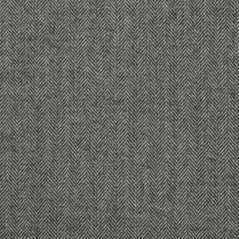 コットン&ポリウレタン×ミックス(グレー)×ヘリンボーン・ストレッチ
