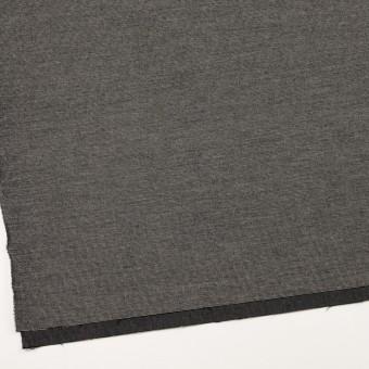 コットン&ポリウレタン×ミックス(チャコール)×かわり織ストレッチ サムネイル2