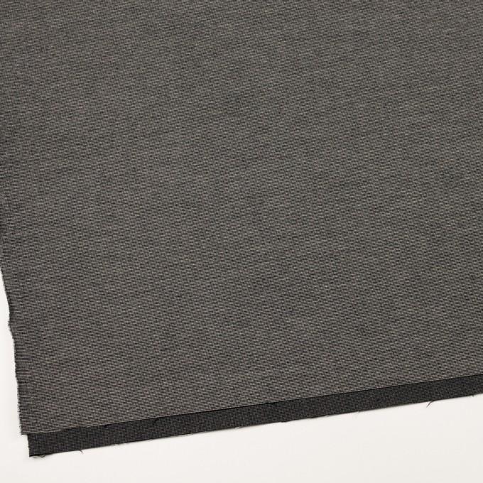 コットン&ポリウレタン×ミックス(チャコール)×かわり織ストレッチ イメージ2