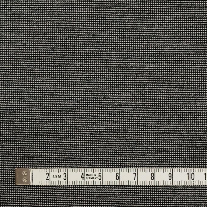 コットン&ポリウレタン×ミックス(チャコール)×かわり織ストレッチ イメージ4