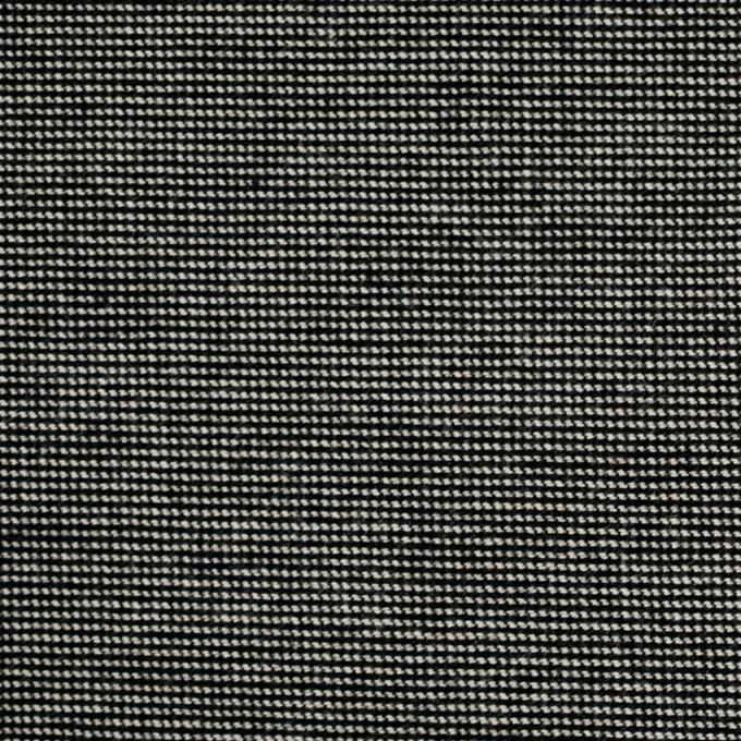コットン&ポリウレタン×ミックス(チャコール)×かわり織ストレッチ イメージ1