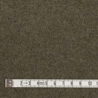 コットン&ウール×無地(カーキグリーン)×裏毛ニット サムネイル4