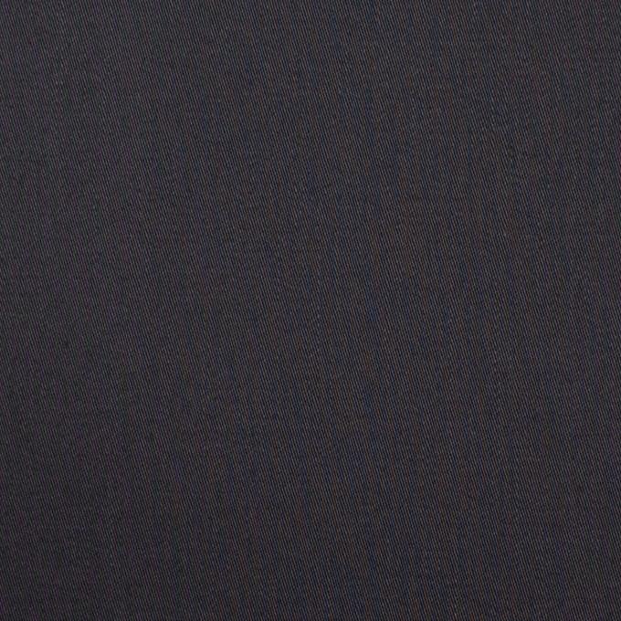 コットン×無地(チャコール)×サテン イメージ1
