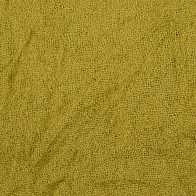 ウール×無地(アンティークゴールド)×ガーゼワッシャー_全4色 イメージ1