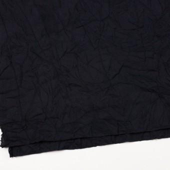 ウール×無地(ブラック)×ガーゼワッシャー_全4色 サムネイル2