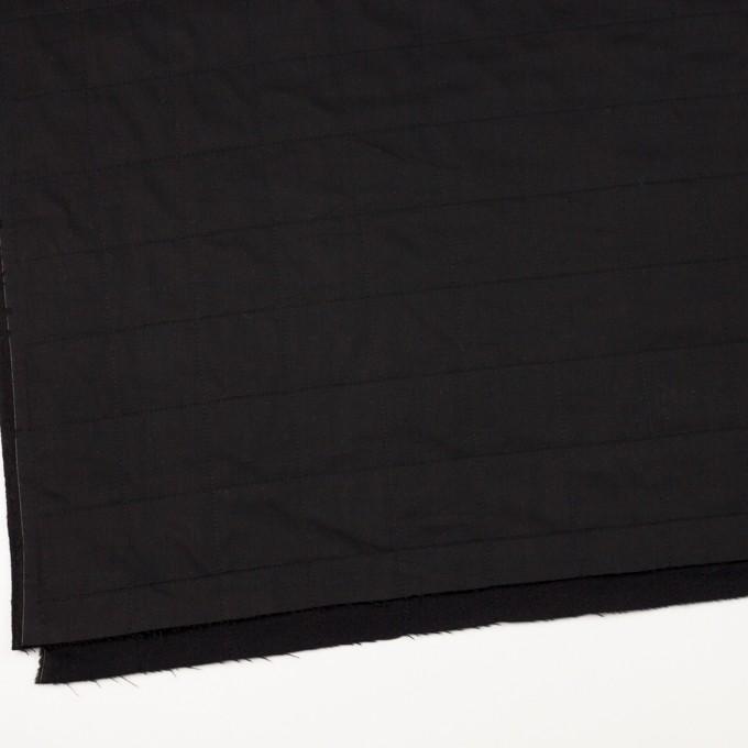 コットン&ウール×無地(ブラック)×ブロード&ビエラ イメージ2