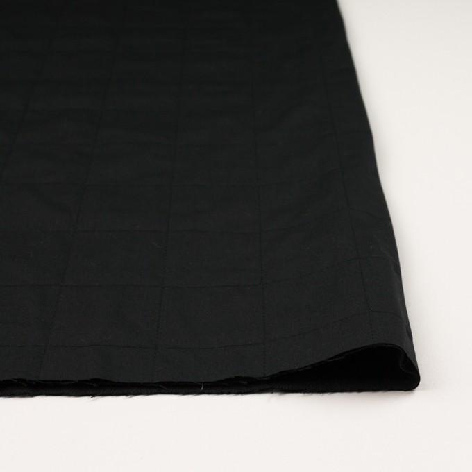 コットン&ウール×無地(ブラック)×ブロード&ビエラ イメージ3