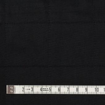 コットン&ウール×無地(ブラック)×ブロード&ビエラ サムネイル4
