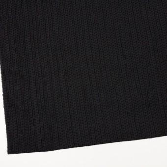 ウール&ポリエステル×ドット(ブラック)×刺し子 サムネイル2
