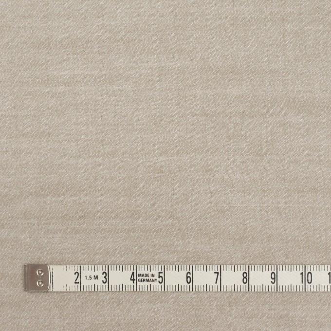 コットン&ウール×無地(グレイッシュベージュ)×ビエラ イメージ4
