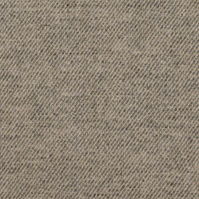 ウール&コットン×無地(アッシュグレー)×ビエラ イメージ1