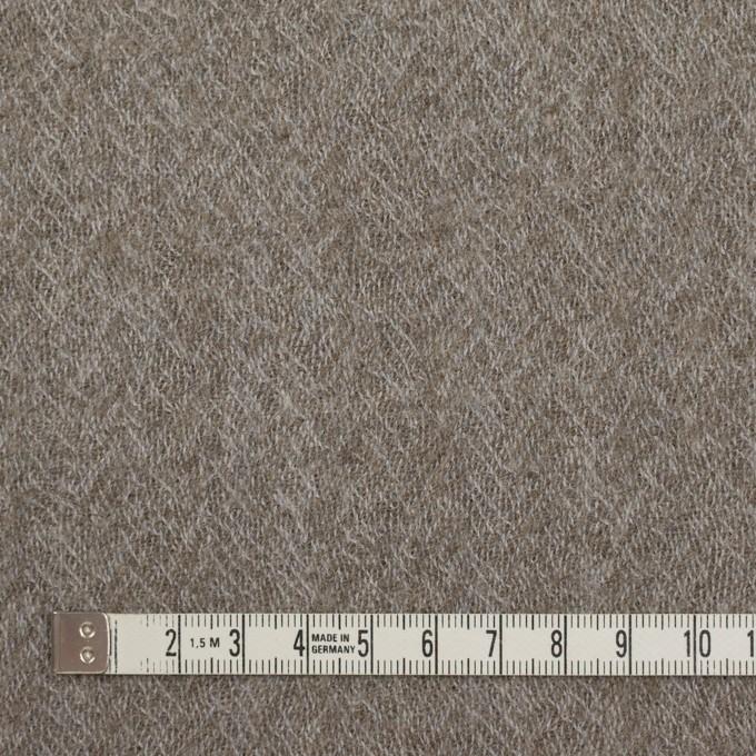 ウール×無地(アッシュグレー)×ヘリンボーン・ガーゼ イメージ4