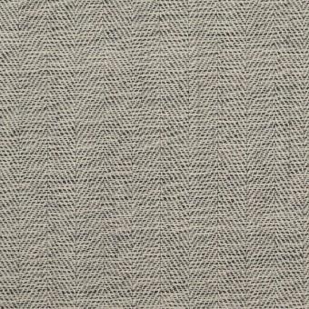 ウール×ミックス(キナリ&チャコール)×ヘリンボーン
