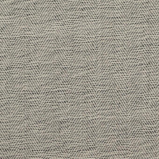 ウール×ミックス(キナリ&チャコール)×ヘリンボーン イメージ1