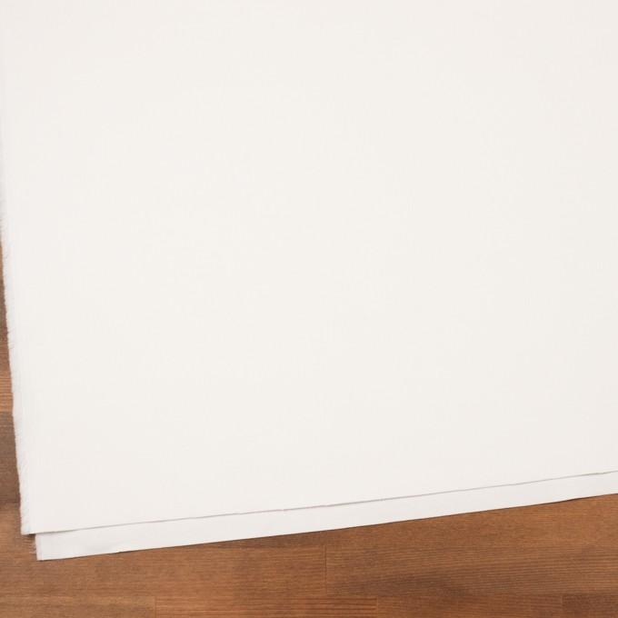 コットン&ポリウレタン×無地(オフホワイト)×細コーデュロイ・ストレッチ イメージ2