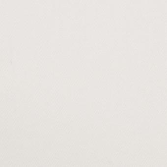 コットン&ポリウレタン×無地(オフホワイト)×カツラギ・ストレッチ