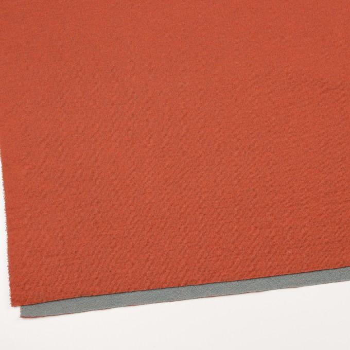 ウール&コットン×無地(オレンジ&グリーンフォグ)×リブ&天竺ニット イメージ2